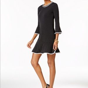 Michael Michael Kors polka dot flounce dress